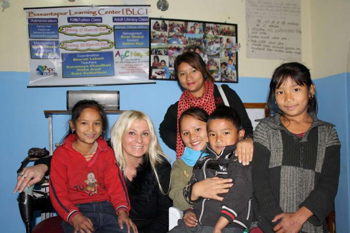 Parrain d'APC en visite au Népal
