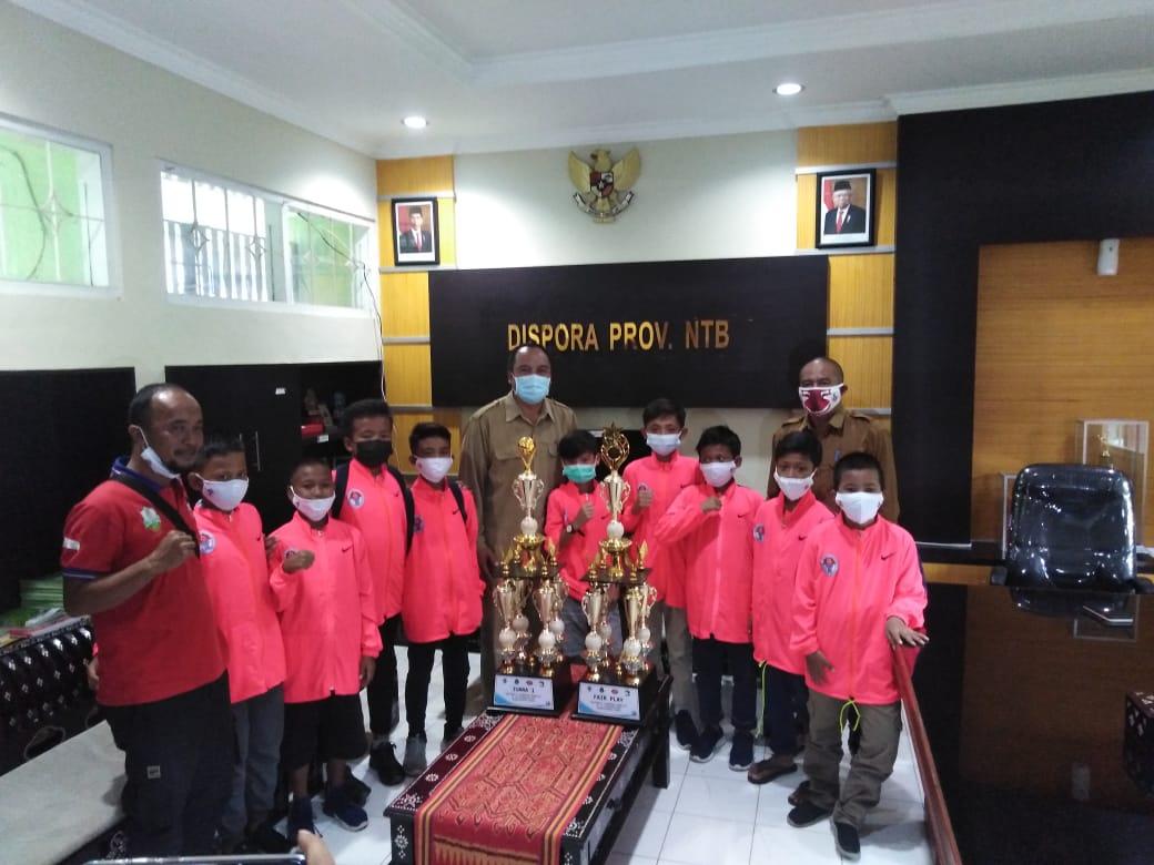 Gubernur NTB Tekankan Fasilitasi  Tim U-12 bertanding di singa cup 2021