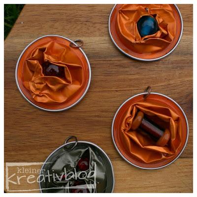 kleiner-kreativblog: Schmuck aus Kaffeekapseln - Upcycling