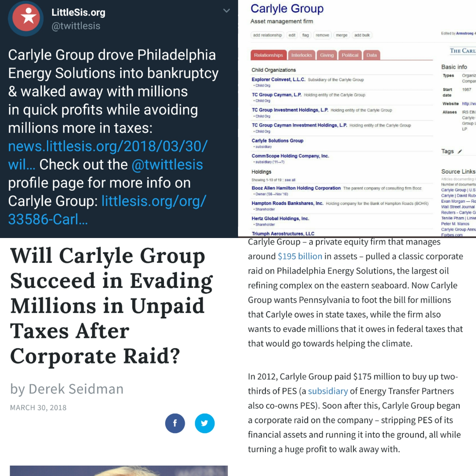 Will Carlyle Group Succeed in Evading Millions in Unpaid Taxes After