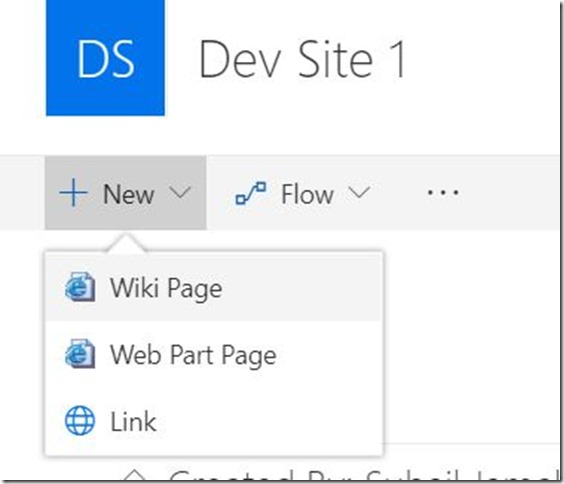 Prevent users from creating Site Pages–SharePoint Online 4