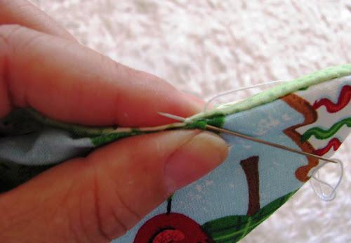 costurando arvore de retalhos
