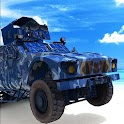 Russian Army OffRoad War Truck icon
