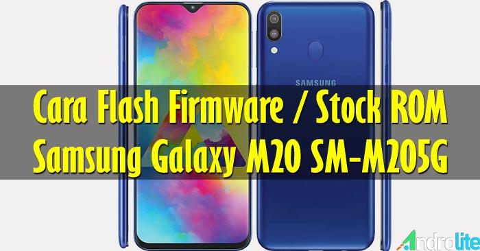 Cara Flash Samsung Galaxy M20 SM-M205G
