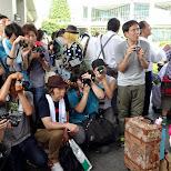 photographers at Comiket 84 - Tokyo Big Sight in Japan in Tokyo, Tokyo, Japan