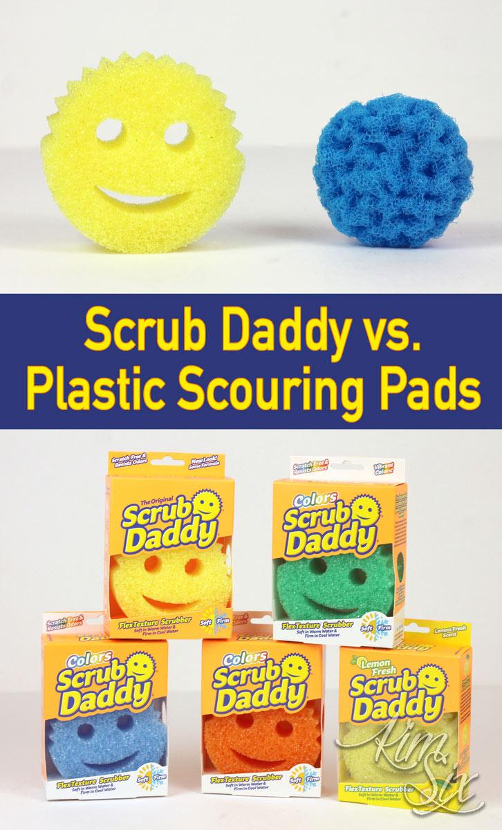Scrub Daddy vs Scrubbing Pads