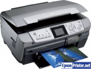 How to reset Epson RX700 printer