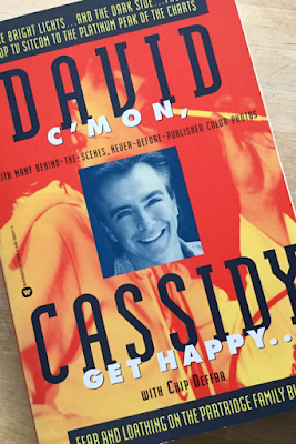 midnight man David Cassidy book Cmon get happy