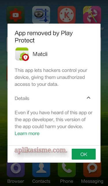 This app lets hackers control your device giving them unautorized access to your data