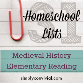 Organized homeschool lists for busy moms