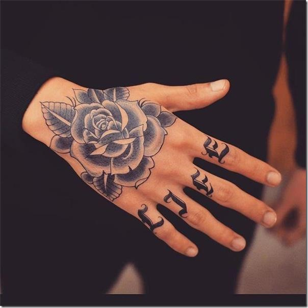 Tatuajes En La Mano Espectaculares Las Mejores Fotos Tatuajes247