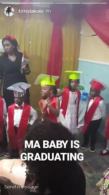 Timi Dakolo's Daughter Graduates Today