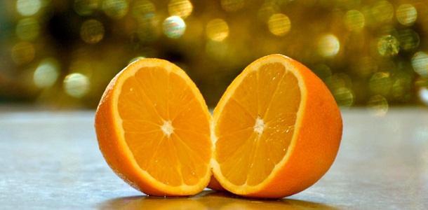 Gambar buah jeruk manis