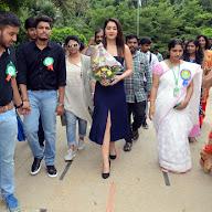Rashi Khanna at HITAM College Event (1).JPG