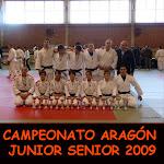 CAMPEONATO ARAGÓN JUNIOR SENIOR 2009