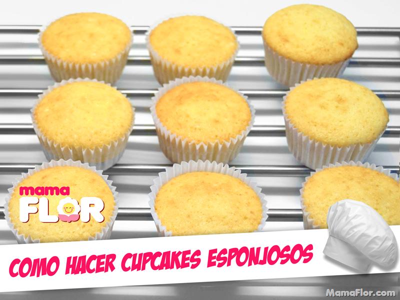 Preparacion de Cupcakes Esponjosos