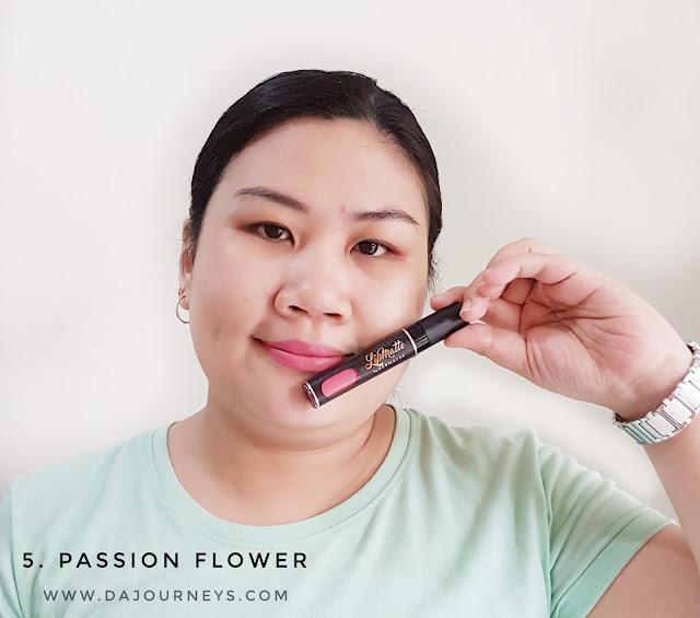 Review Lip Matte Passion Flower by Dermaluz