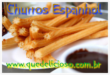 Churros espanhol