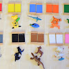 Animal Color Sorting with Montessori Color Tablet