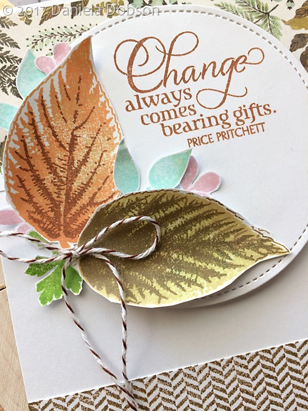 Change close by Daniela Dobson
