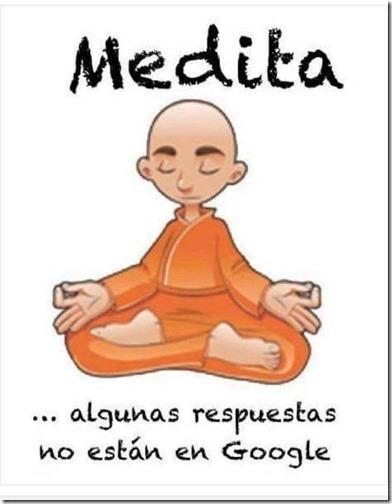 meditar humor