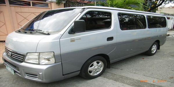 Luzviminda Travel and Tours: Cebu - Regular Van For Rent (Nissan UrVan)
