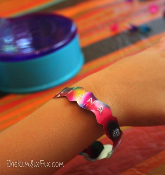Personalized kids bracelet craft