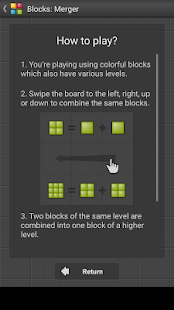 Blocks: Merger - Puzzle game- screenshot thumbnail
