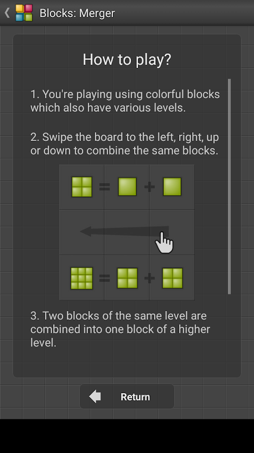 Blocks: Merger - Puzzle game- screenshot