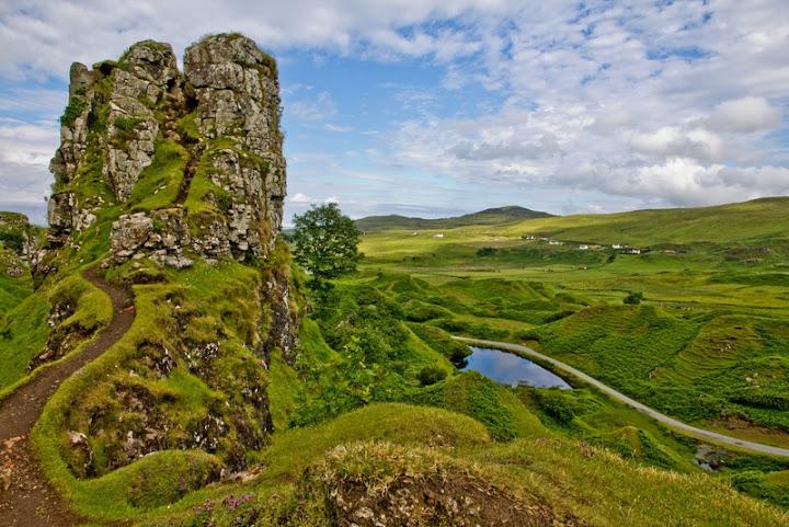 Fairy Glen, Isla de Skye, Escocia