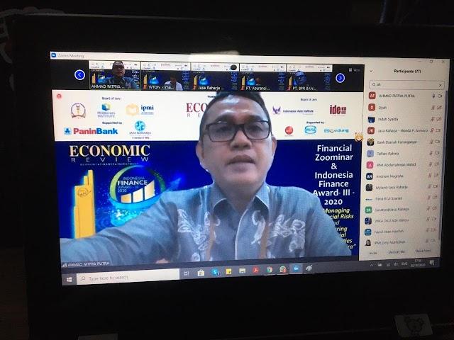 Mantap, Bank Kalsel Raih Indonesia Finance Award atas Prestasi Kinerja Keuangan
