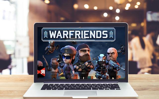 WarFriends HD Wallpapers Game Theme