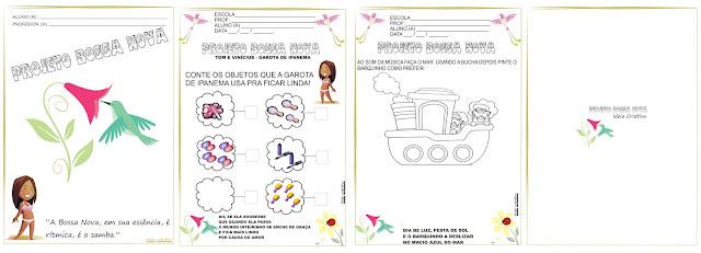 Caderno de Atividades Projeto Bossa Nova
