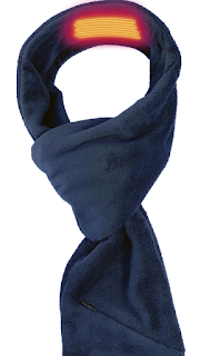 Blue Heated Scarf from Volt