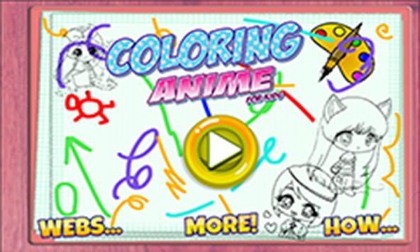 Download Colorear Anime By Panitee Juego Niños Estudio Apk