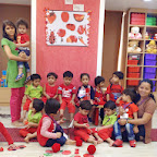Red Day Celebrated in Playgroup at Witty World