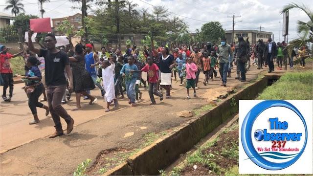 Bamenda: Women protest Kumba Killings, Express Rage
