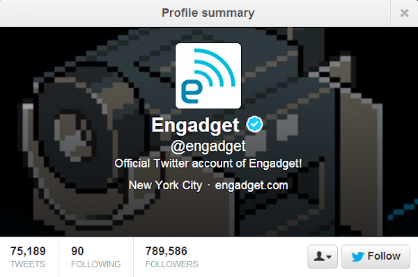 Engadget - @engadget