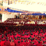 Massive religious gathering and enthronement of Dalai Lama's portrait in Lithang, Tibet. - l68-1.JPG