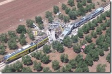 Incidente ferroviario in Puglia