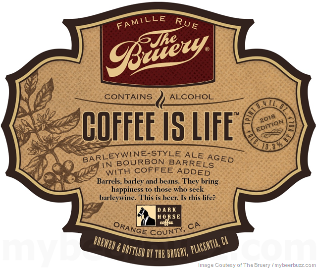 The Bruery Adding New Coffee Is Life