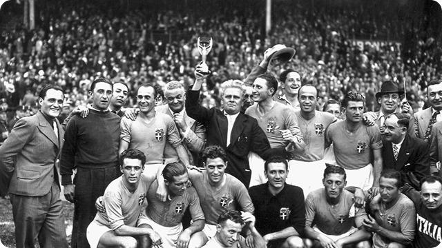 A 20 días del inicio del Mundial Rusia 2018: Recuerdos mundialistas, en Francia 1938 los Azzurri reeditan el título.