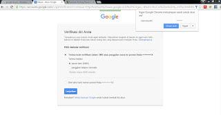 Akun Gmail Gagal Verifikasi 2 Langkah Karena Nomer Telepon Ganti