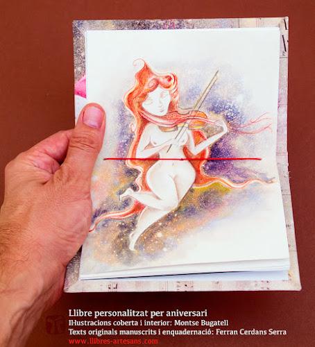 Il·lustració central al llibre fet a mida, de Montse Bugatell