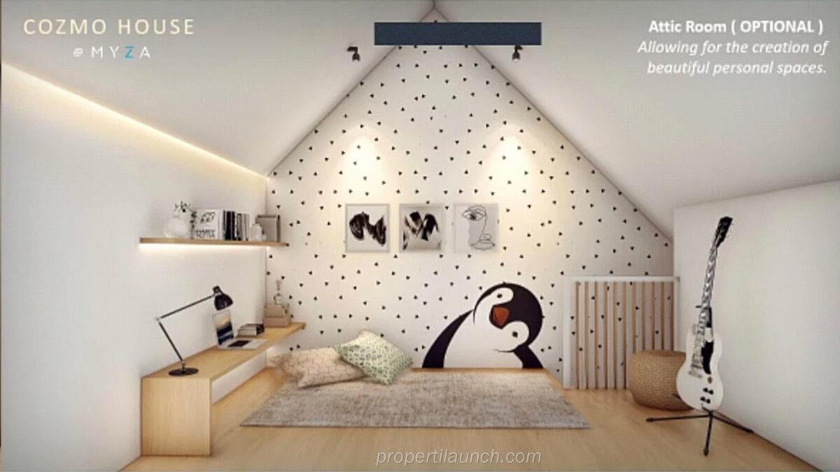 Attic Room CozmoHouse BSD