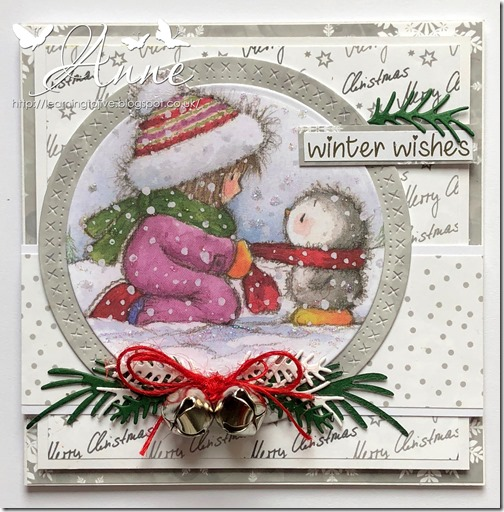 Art Sheet 24 Cosy Christmas w