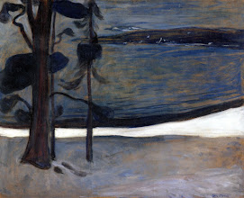 "Photo: Edvard Munch, ""Inverno a Nordstrand"" (1901)"