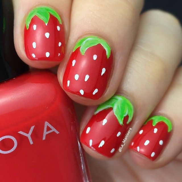 Simple Food Nail Designs