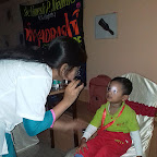 Eye Check-up of Nursery Afternoon Section at Witty World, Chikoowadi (2018-19)