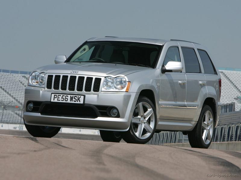 2008 jeep grand cherokee srt 8 specifications pictures prices. Black Bedroom Furniture Sets. Home Design Ideas